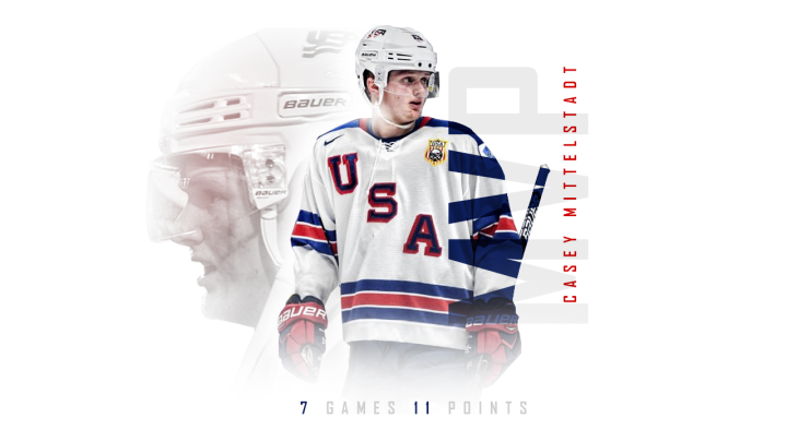 2018 World Juniors MVP Casey Mittelstadt Highlights